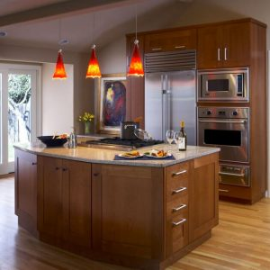 Stained Red Oak Hardwood Flooring 04