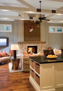 Stained Red Oak Hardwood Flooring 03